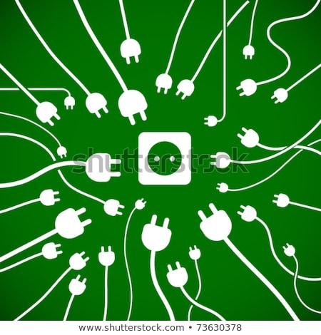 Alternative energy vector concept metaphor Stock photo © RAStudio