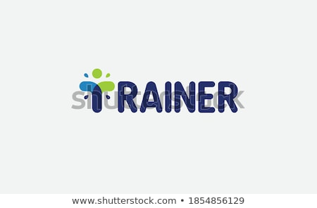Athlete is trained on trainer Stock photo © Paha_L
