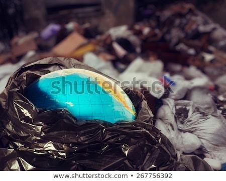 recycle bin with globe Stock photo © get4net