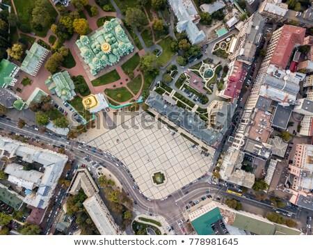 Sophia Square In Kyiv Photo stock © bezikus