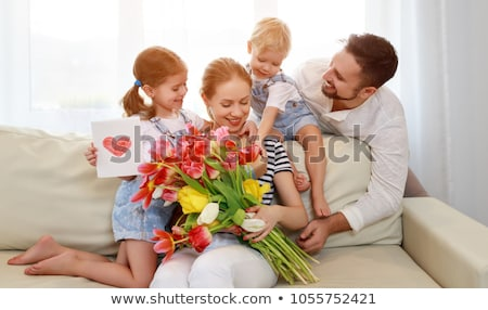 Celebrating Mothers Day - Boy Stock photo © benchart