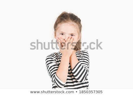 I do not see, can not hear silent Stock photo © OleksandrO