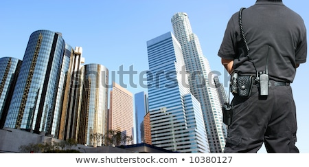Undercover armed Police officer. Stock photo © RTimages