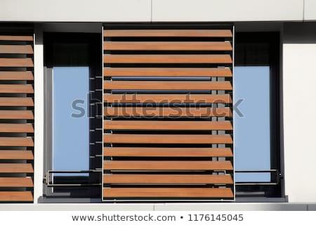 Brun aveugle horizontal résumé lumière design Photo stock © Procy