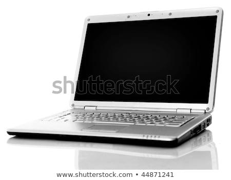 аккуратный · чистой · столе · портативного · компьютера · блокнот - Сток-фото © ozaiachin