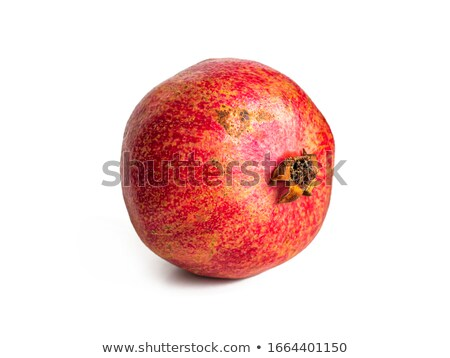 one fresh red pomegranate stock photo © boroda