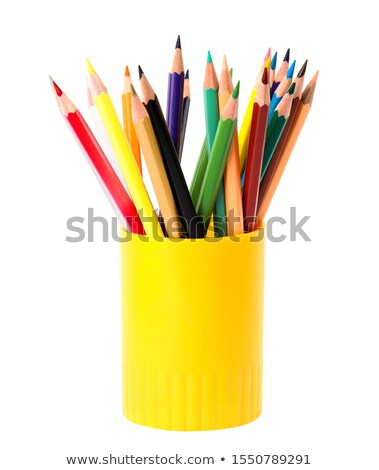Schrijfbehoeften geïsoleerd witte kantoor school werk Stockfoto © Roka