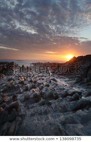 Wygaśnięcia na północ wybrzeża plaży południe zachód Zdjęcia stock © ollietaylorphotograp