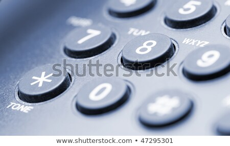 Phone keypad closeup Stock photo © sqback