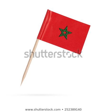 Miniature Flag of Morocco stock photo © bosphorus