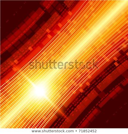 vector · Rood · stralen · licht · textuur · boom - stockfoto © beholdereye