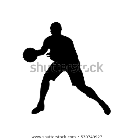 icon · sport · team · silhouet - stockfoto © myvector