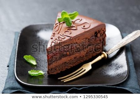 Sacher torte Stock photo © Koufax73