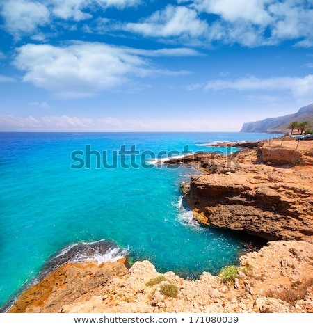 praia · Valência · Espanha · mar · oceano · viajar - foto stock © lunamarina