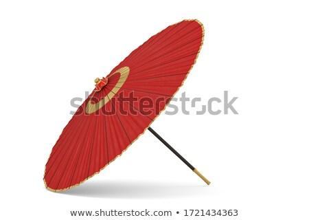 traditioneel · decoratief · japans · paraplu · kunst · asia - stockfoto © elenarts