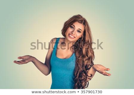 mulher · problema · retrato · bastante - foto stock © ichiosea