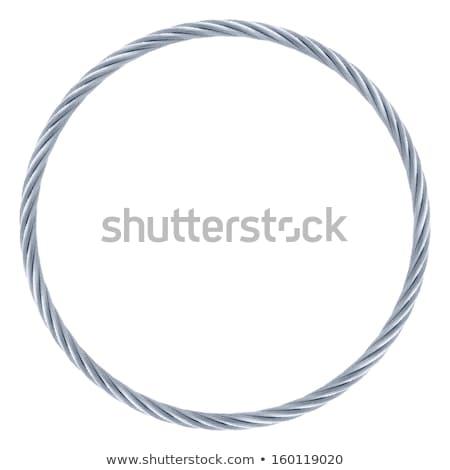 бесконечный стали веревку 3D генерируется фотография Сток-фото © flipfine