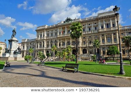 palácio · justiça · Roma · Itália · edifício · cidade - foto stock © Dserra1