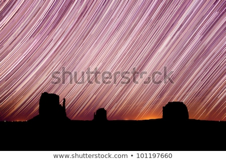 Star vallei natie Arizona mooie bos Stockfoto © tobkatrina