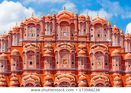 Hawa Mahal - Wind Palace in Jaipur, Rajasthan, India Stock photo © Akhilesh