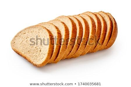 Szeletel rozs kenyér fából készült étel búza Stock fotó © OleksandrO