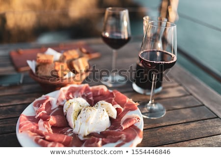 Traditional Food and Classic Wines Stock photo © chrisdorney