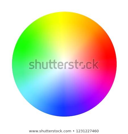 Kleur spectrum cirkels abstract vector eps10 Stockfoto © oliopi