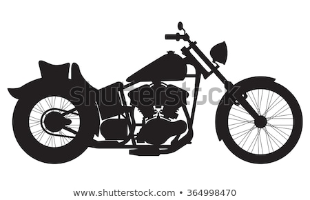 motorcycle silhouette Stock photo © kokimk