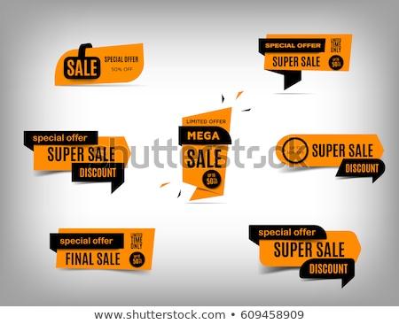 tag · vendita · etichetta · offrire · icona · vettore - foto d'archivio © Dxinerz