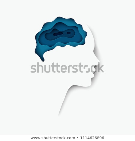 Brain Paper Stock photo © Lightsource