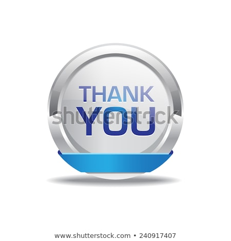 Thank You Glossy Shiny Circular Vector Button Stock photo © rizwanali3d