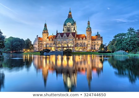 New Town Hall (Rathaus) in Hanover, Germany Stock photo © vladacanon