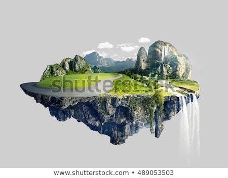 Island in the sky Stock photo © ijalin