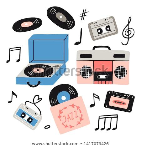 Doodle speaker icon  Stock photo © netkov1