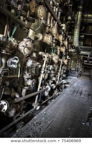 raccapricciante · immagine · vecchio · pipe · organo · chiesa - foto d'archivio © michaklootwijk