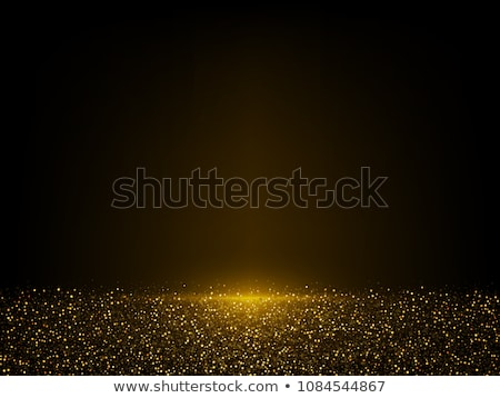 Stok fotoğraf: Christmas Gold Background Eps 10