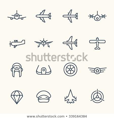 пропеллер · плоскости · линия · икона · веб · мобильных - Сток-фото © rastudio