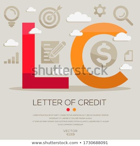 Definición crédito tarjetas de crédito cadena teclado ordenador Foto stock © dzejmsdin