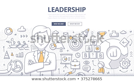 Career in Business concept  with Doodle design style Stock photo © DavidArts