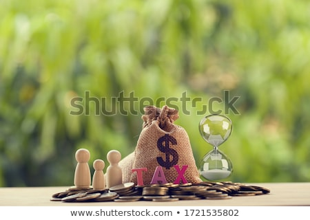 Hourglass and word security Stock photo © fuzzbones0
