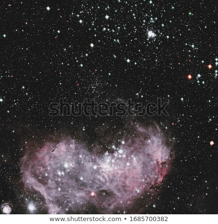 Young stars and gas clouds in the Large Magellanic Cloud. Stock photo © NASA_images