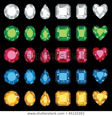 red diamond jewel heart stock photo © orson