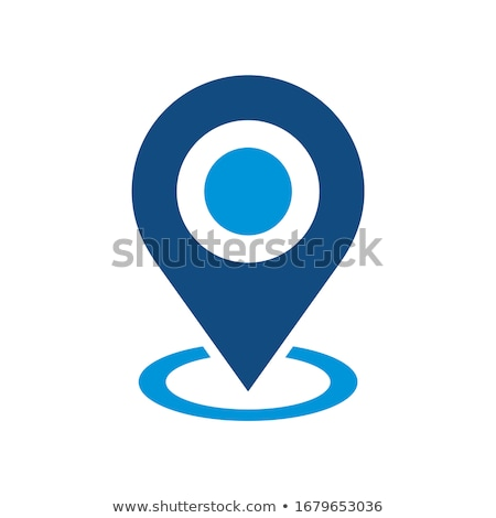 Targeted Locations Icon. Flat Design. Stock photo © WaD