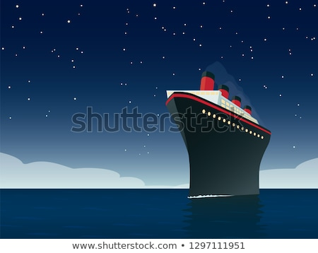 Ocean liner Stock photo © tracer