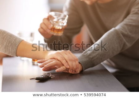 Alcoholic Drink and Car Keys stock photo © feverpitch