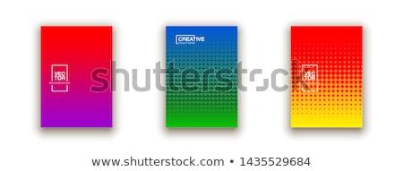 Business! Bright colorful tone concept Stock photo © JanPietruszka