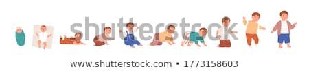 çocuklar çocuk doktoru örnek çocuklar kadın Stok fotoğraf © lenm