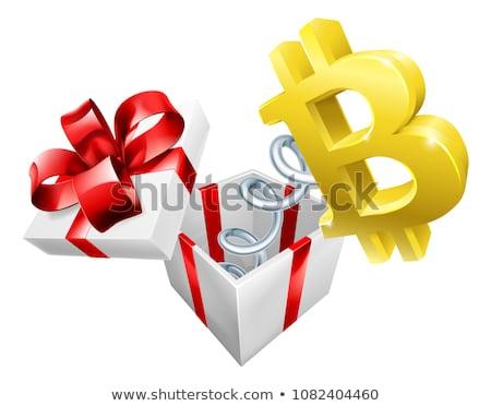 Bitcoin Jack in the Box Stock photo © Krisdog
