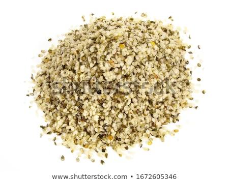 Heap Samen weiß Natur Gesundheit Hintergrund Stock foto © ungpaoman