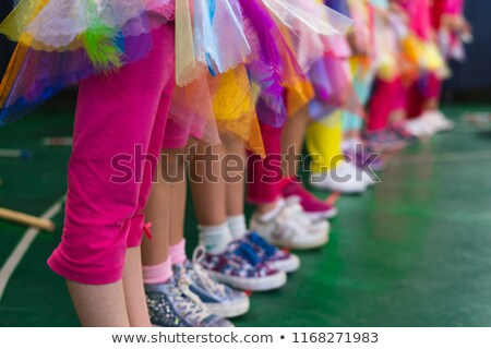 Group of children perform on stage Stock photo © bluering